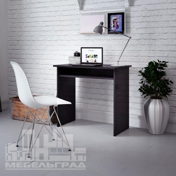 стол черный рабочий письменный компьютерный для ноутбука