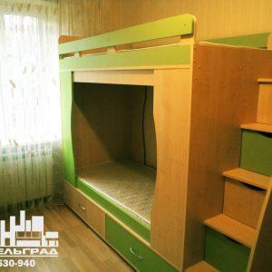 Мебель для детской комнаты: двух-ярусная кровать