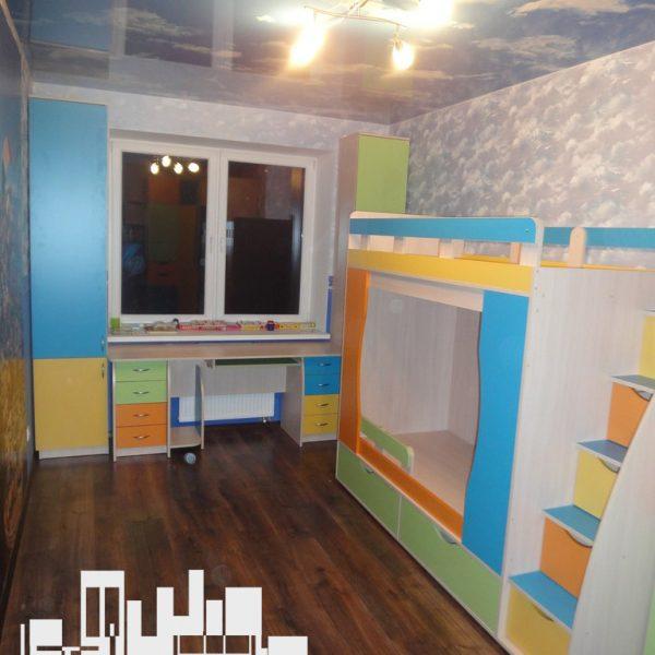 Детская мебель для двоих детей Детская мебель Калининград Купить детскую мебель на заказ в Калининграде дешево