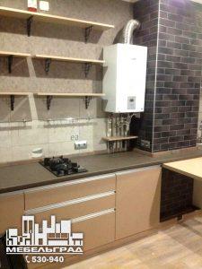 Классическая кухня с деревянными фасадами