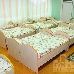"""Кроватки в детском саду №23  """"Орленок"""" в пос. Орловка"""