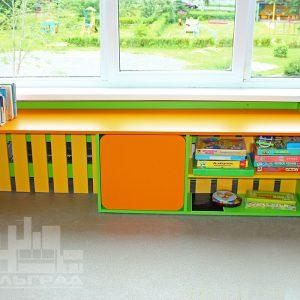 """Экраны для батарей  в детском саду №23  """"Орленок"""" в пос. Орловка"""