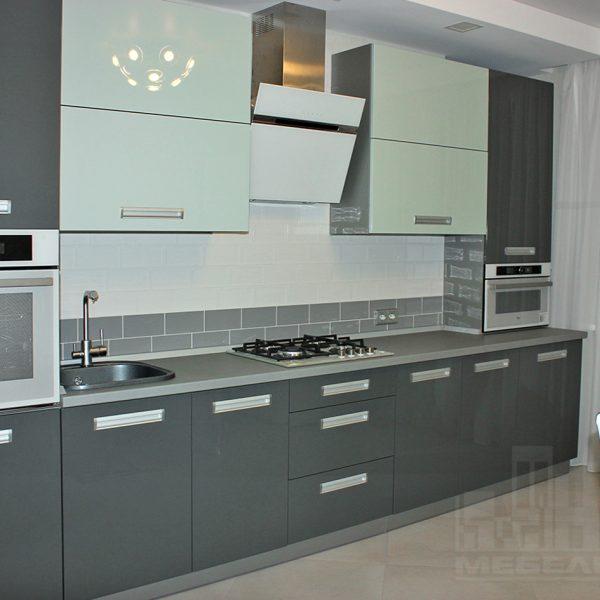 Серые кухни Калининград Купить кухню в Калининграде