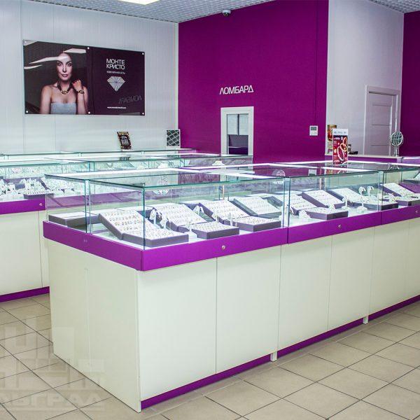 Витрины рецепции офисная мебель для магазинов Калининград