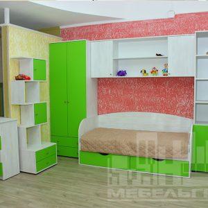 Салатовая детская мебель Калининград