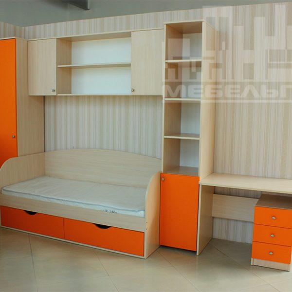 Оранжевая детская мебель Калининград
