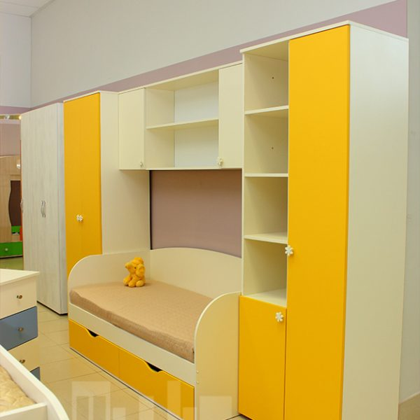 Желтая детская мебель Калининград Детская мебель на заказ по вашим размерам КалининградДетская мебель на заказ по вашим размерам Калининград