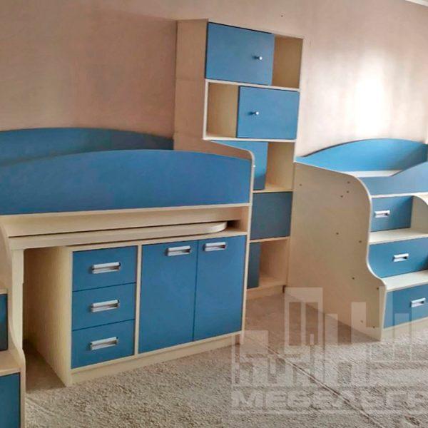 Голубая детская мебель Калининград