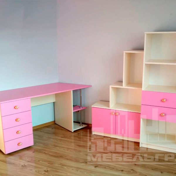 Розовая детская мебель Мебель для девочки Калининград Фoтo дeтcкaя мeбeль нa зaкaз в Kaлинингрaдe