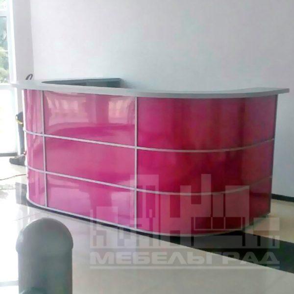 Офисная мебель Калининград. Офисная мебель на заказ в Калининграде рецепция на заказ стойка администратора Ресепшн Калининград