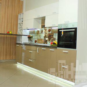 Кухня в краске МДФ