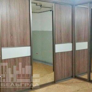 купить угловой Шкаф-купе в прихожую заказать Калининград шкаф купе в Калининграде