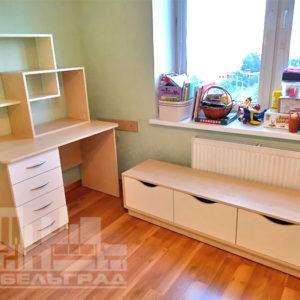Бежевая детская мебель Калининград
