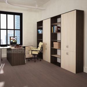 Офисная мебель: Шкафы. Столы
