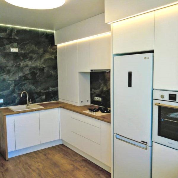 Белая кухня Купить в Калининграде. Кухни Калининград.