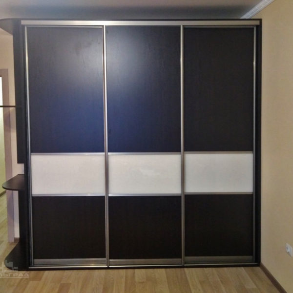 Темный шкаф купе Калининград. Купить шкаф купе в Калининграде
