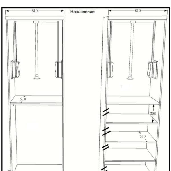 шкафы на заказ калининград