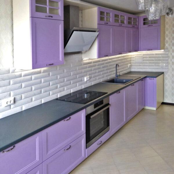 Сиреневая кухня Калининград Кухни в Калининграде