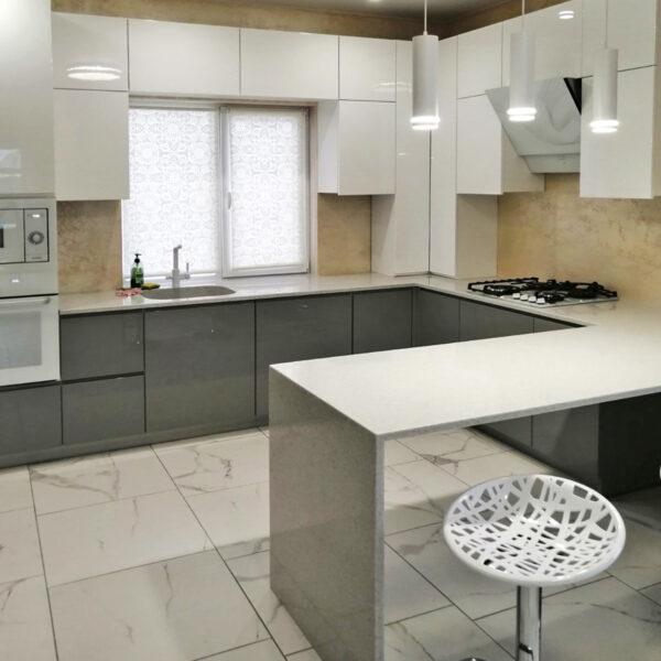 Кухня с каменной столешницей Кухни Калининград Купить кухню в Калининграде