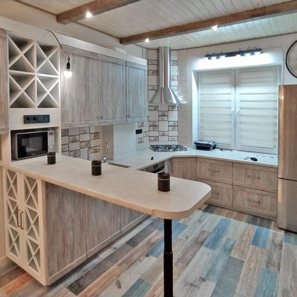 Кухня в стиле кантри Кухни Калининград Кухня на заказ в Калининграде