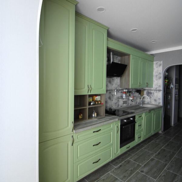 Фисташковая кухня Кухни Калининград Купить кухню в Калининграде