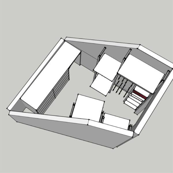 Нестандартная планировка гардеробной Гардеробные системы Калининград Гардеробные в Калининграде Шкафы Калининград