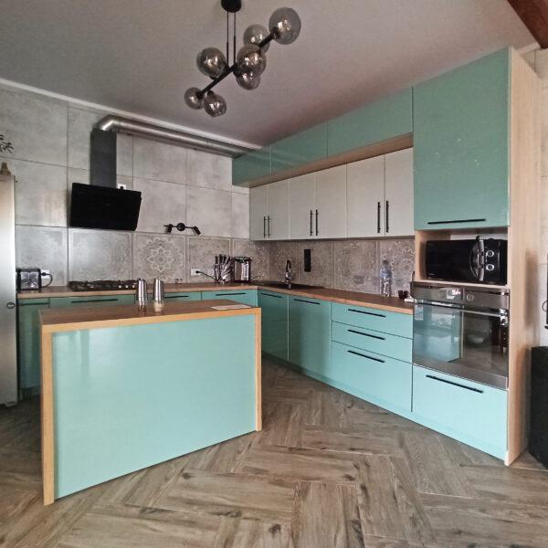 Лазурная кухня Кухни Калининград Купить кухню в Калининграде