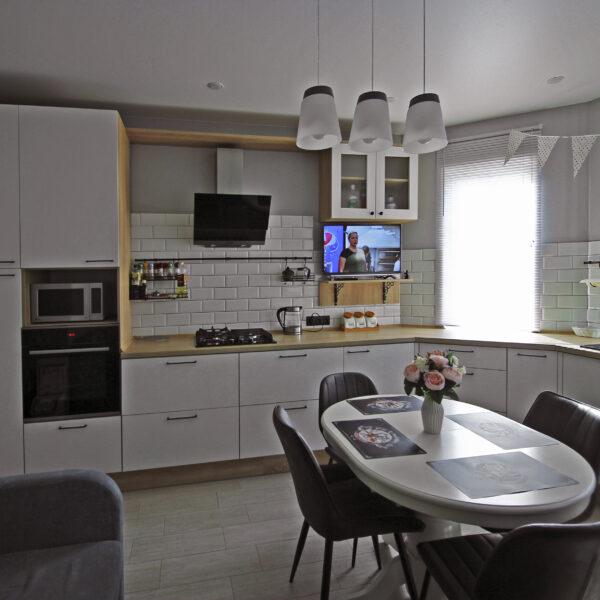 Кухня без верхних шкафов в Калининграде Кухни Калининград Купить кухню в Калининграде