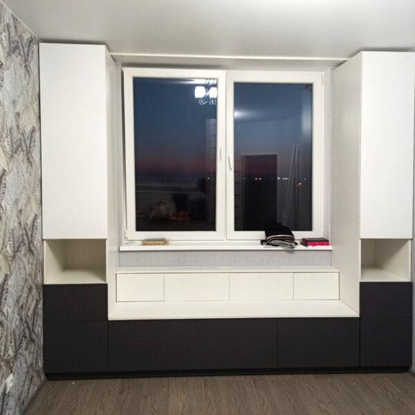 Шкаф вокруг окна Шкафы Калининград купить шкаф в Калининграде