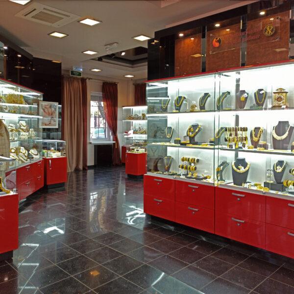 Витрины в салон янтаря Витрины Калининград Торговое оборудование