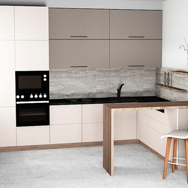 Кухня-столовая кухни Калининград Кухни на заказ в Калининграде Купить кухню
