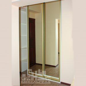 Зеркальный шкаф купе в г.Зеленоградске
