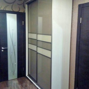 двух секционный шкаф-купе