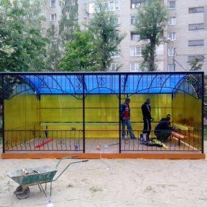 Детских площадки
