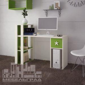 стол яркий рабочий письменный компьютерный для ноутбука