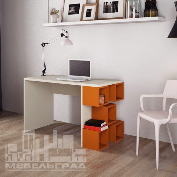 Дизайнерский яркий и стильный компьютерный или письменный стол